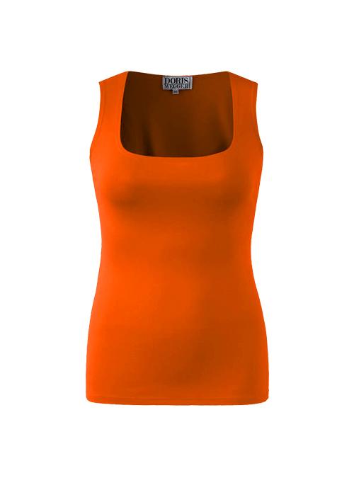 Couture Tank, Solar Orange