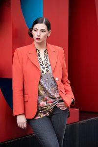 Plus Size Fashion-Statement und Stil von Doris Megger, Düsseldorf