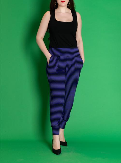 Leisurepants, Violett stripes