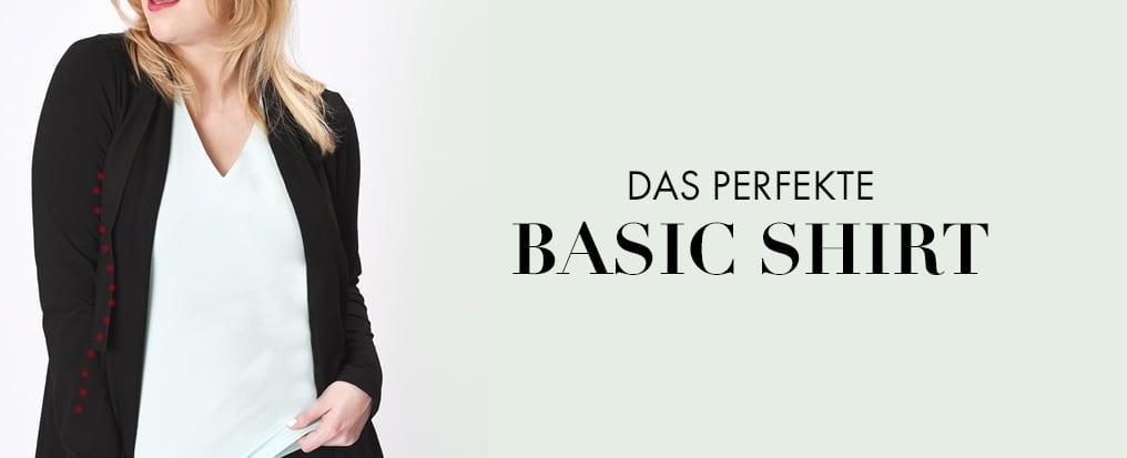 Basic Shirt - perfekt und unnachahmlich in jeder Größe