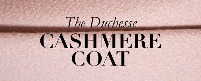 Der neue Cashmere Mantel - Endlich lang genug!