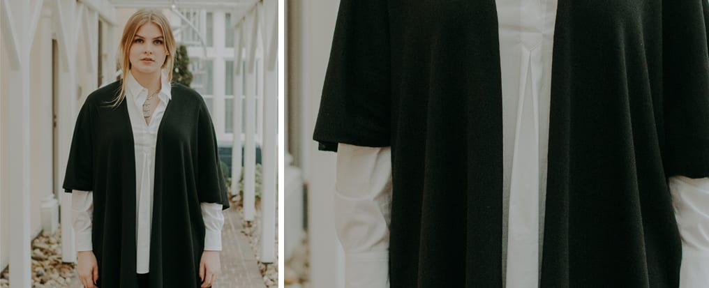 Herbstlook - das perfekte Layering - Doris Megger - Made in Germany - Curvy Fashion