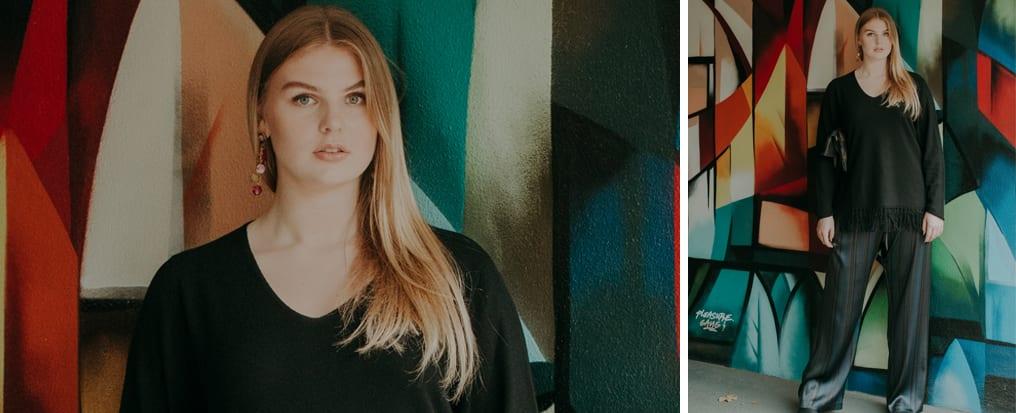 Herbstlook - Herbstoutfit -das perfekte Layering - Doris Megger - Made in Germany - Große Größen