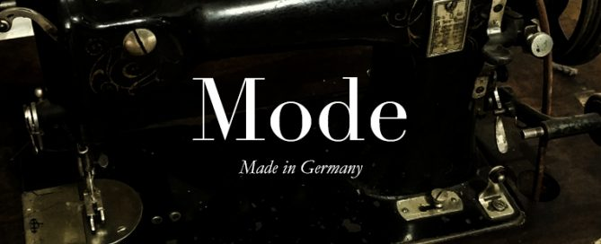 Mode-made in Germany, Tradition verpflichtet