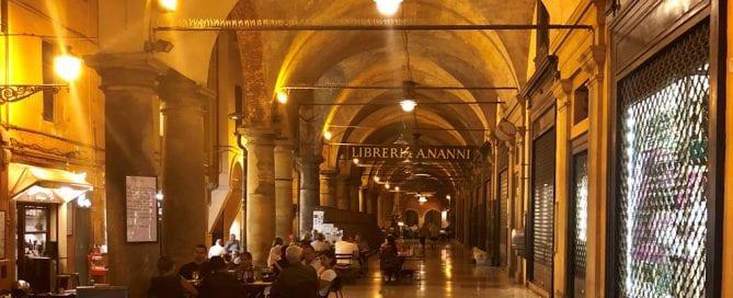 Die Portici von Bologna