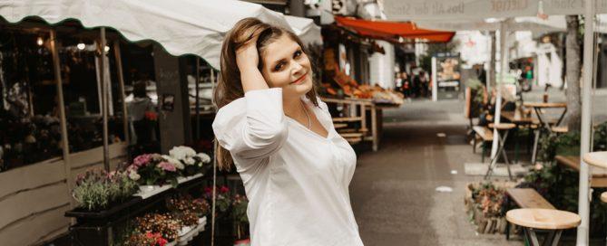 Die weiße Bluse - Neomoderne Klassik